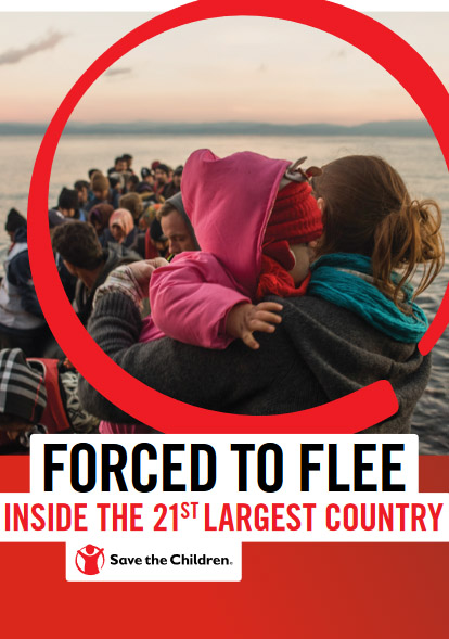 Fored to flee