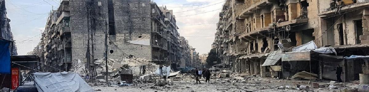 Siria Ghouta orientale macerie