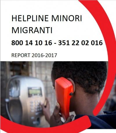 Helpline Minori Migranti Report 2016-2017