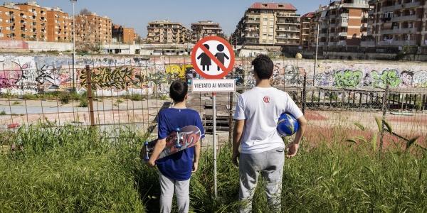 Italia vietata ai minori Ostia skatepark