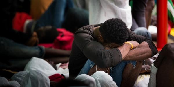 migranti in nave