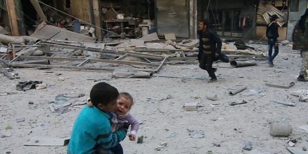 Syria bombardamenti